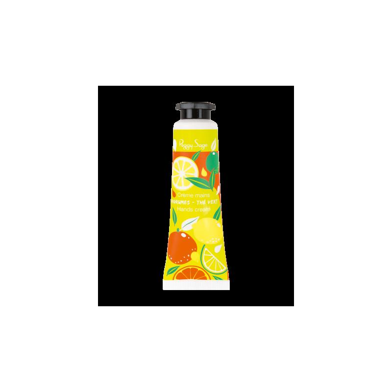 Handcrème citrusvruchten-groene thee